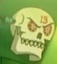Wishbones Skull Cameo