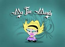 My Fair Mandy Title Card