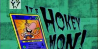 It's Hokey Mon!