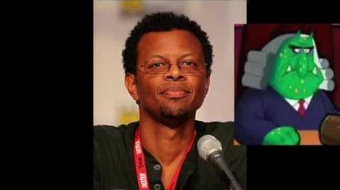 Phil LaMarr voices Judge Roy Spleen