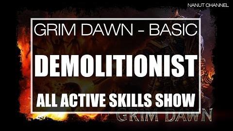 Demolitionist All Active Skills