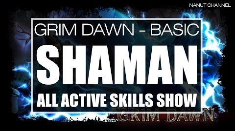 Shaman All Active Skills