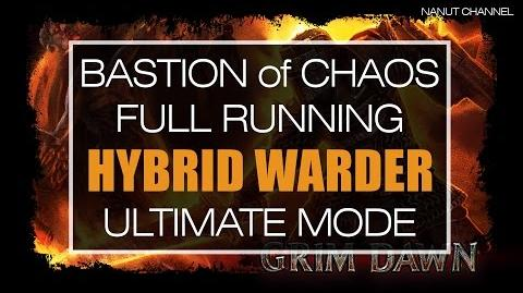 Grim Dawn Warder (Soldier + Shaman) Hybrid Bastion of Chaos Ultimate