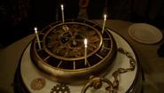 607-Monroe's clock birthday cake