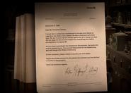 De Groot's letter