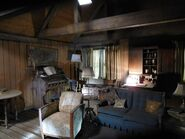 612-BTS-Cabin in the Woods Stage Set
