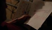 607-Renard looks at Diana's drawings