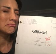 613-Bree Turner with her script