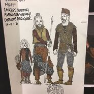 611-Costume Design Concept Sketch