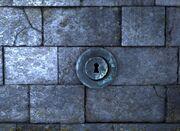 Round keyhole ig