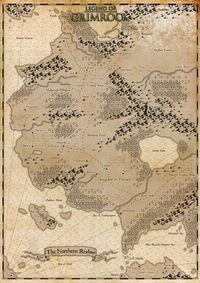 Legend of Grimrock World Map