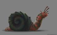 Legend of grimrock snail concept