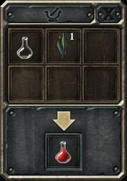 Potion interface