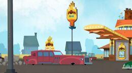 Cherry goes to McDonalds
