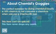 Chemist's Googles