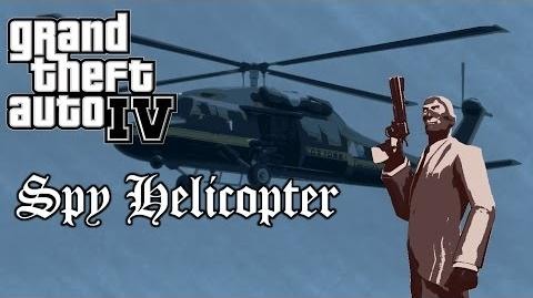 GTA IV - Spy Helicopter Who Is The Spy?