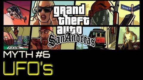 GTA San Andreas Myths & Legends - UFOs HD