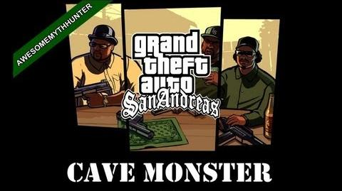GTA San Andreas Myths & Legends -Cave Monster HD-1