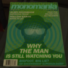 Bigfoot magazine.