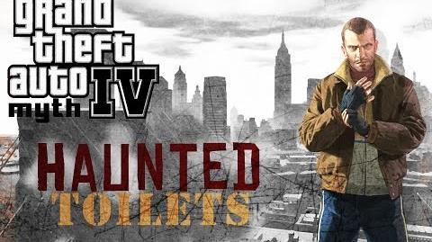 Grand Theft Auto IV Myth Investigations Myth 18 Haunted Toilets
