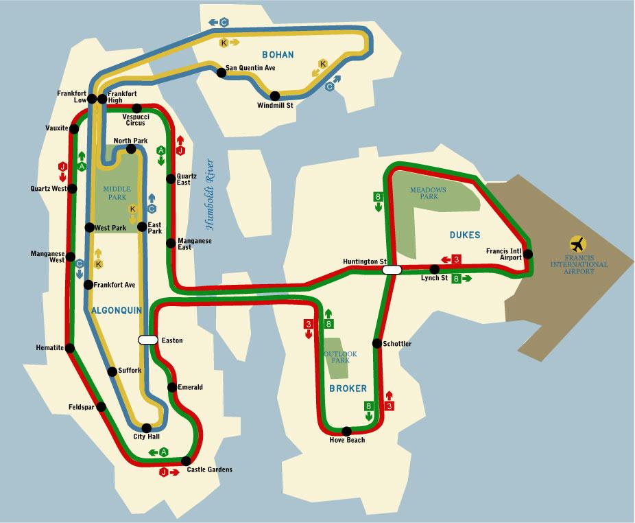 Gta 4 Subway Map