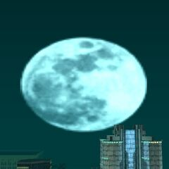 Biggest Size of moon in GTA San Andreas.