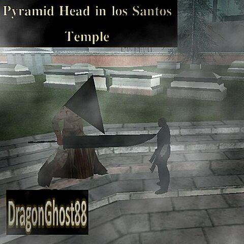 Pyramid Head.