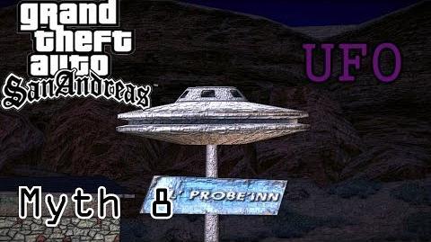 GTA San Andreas Myths and Legends- Myth 8 - UFO