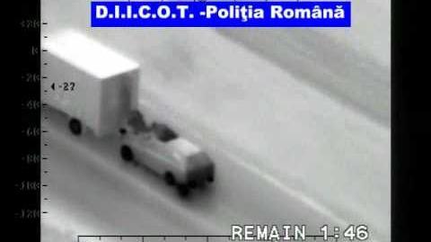 Truck robbing