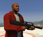 Franklin-Clinton-With-Assault-SMG