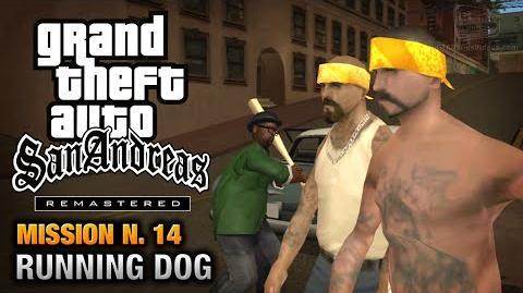 GTA San Andreas Remastered - Mission 14 - Running Dog (Xbox 360 PS3)