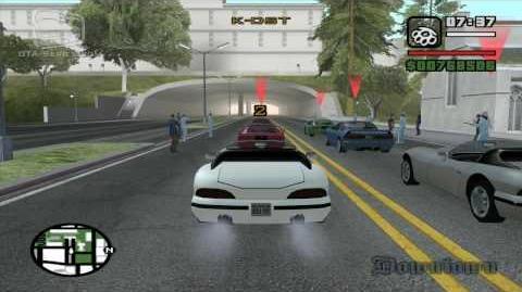 GTA San Andreas - Walkthrough - Street Race - SF to LV (HD)