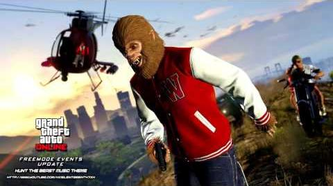 Grand Theft Auto GTA V 5 Online Freemode Events Update - Hunt the Beast Mode Music Theme