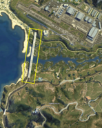 Zancudo Bridge GTAV Sat-Map