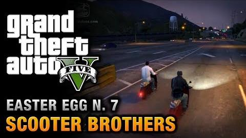 GTA 5 - Easter Egg 7 - Scooter Brothers!