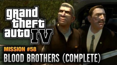 GTA 4 - Mission 58 - Blood Brothers Complete (1080p)