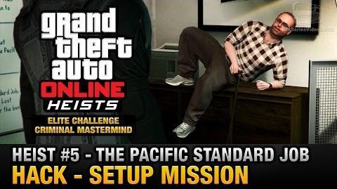 GTA Online Heist 5 - The Pacific Standard Job - Hack (Criminal Mastermind)-0