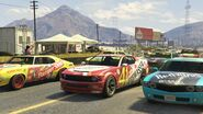 Stock Car Race GTAVe Race5 Start Grid