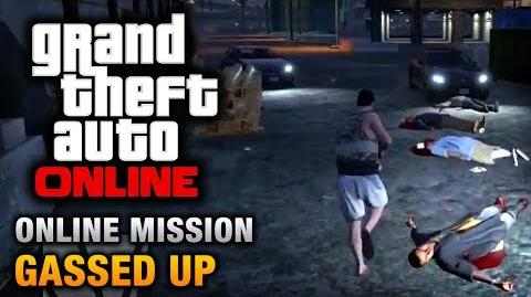 GTA Online - Mission - Gassed Up Hard Difficulty