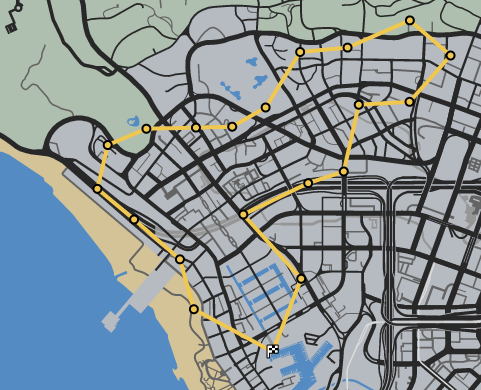 Tight Squeeze GTAO Race Map
