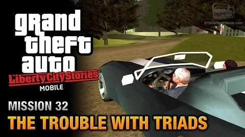 GTA Liberty City Stories Mobile - Mission 32 - The Trouble with Triads