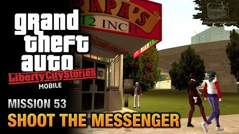GTA Liberty City Stories Mobile - Mission 53 - Shoot the Messenger