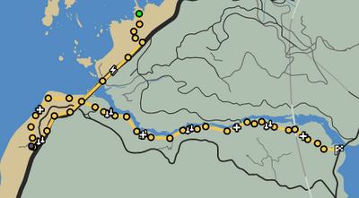 Up The Creek GTAO Race Map