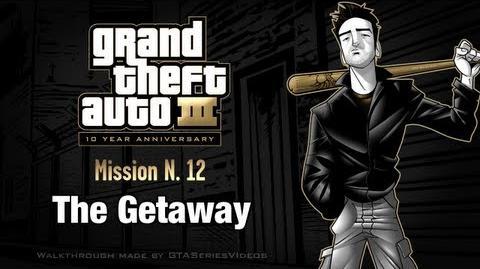 GTA 3 - iPad Walkthrough - Mission 12 - The Getaway