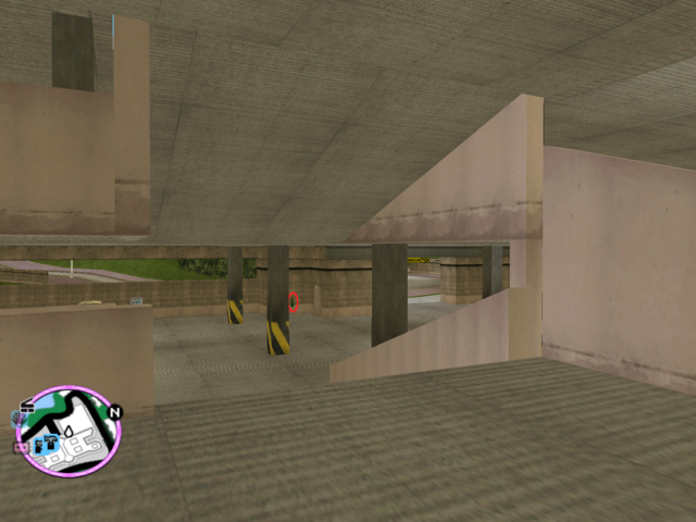 File:GTAVC HiddenPack 40 S.of S. Car Park Entrance of Vice Point Mall W.png
