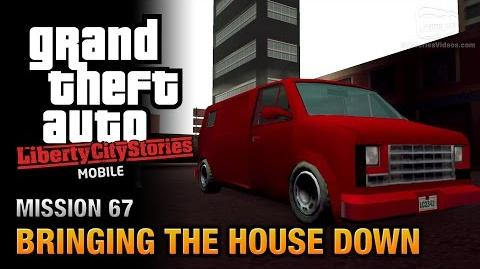 GTA Liberty City Stories Mobile - Mission 67 - Bringing the House Down