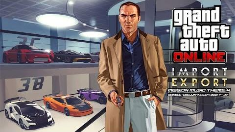 Grand Theft Auto GTA V 5 Online Import Export - Mission Music Theme 4