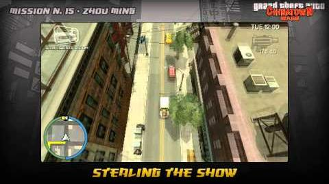 GTA Chinatown Wars - Walkthrough - Mission 15 - Stealing The Show