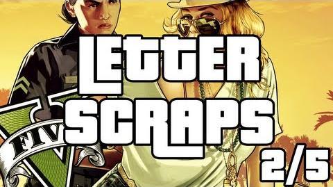 Grand Theft Auto 5 - Letter Scraps Locations - 2 5 - Southwest - GTA V