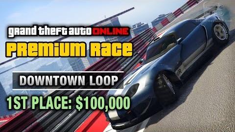 GTA Online - Premium Race 15 - Downtown Loop (Cunning Stunts)